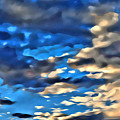 Sky And Clouds by Modern Art