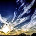 Sky Artistry Over Chandler Arizona by Brian Tada