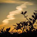Sky At Dusk Over Western Ireland by James Truett