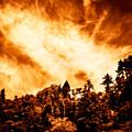 Sky Burst by Venetta Archer