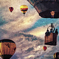 Sky Caravan Hot Air Balloons by Bob Orsillo