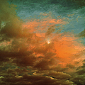 Sky Moods - When The Moons Behind The Clouds by Glenn McCarthy Art and Photography