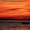 Sky Ripple Sunset by Karen Silvestri