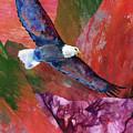Sky Spirit Collage by Sherry Shipley