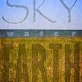 Sky Water Earth 2.0 by Michelle Calkins