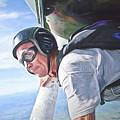 Skydiver  by David Scott