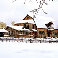 Skyland Farms In Winter by Roger Soule