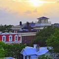 Skyline Charleston Sc by Lori Kesten