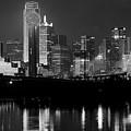 Skyline Dallas Bw 042818 by Rospotte Photography