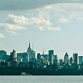 Skyline From Gwb 2 by Arthur Sa
