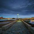 Skyline From The Walkway Cadiz Spain by Pablo Avanzini