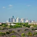 Skyline Houston by Lorna Maza