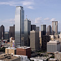 Skyline Of Dallas Texas On A Sunny Day by Wendell Clendennen