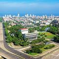 Skyline Of Havana Cuba by Joan Carroll
