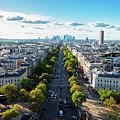 Skyline Of Paris, France by Anastasy Yarmolovich