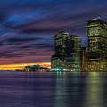 Skyline Sunset by Mike Deutsch