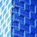 Skyscraper Blue by Alice Gipson