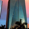 Skyscraper In Miami by Carl Purcell