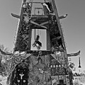 Slab City Museum Tower Bw by FlyingFish Foto