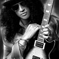 Slash From Guns N Roses by Becky Herrera