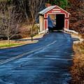 Slate Covered Bridge by Steve Brown