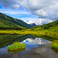 Slate River At Crested Butte Colorado by Tommy Brison