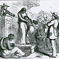Slave Auction by Photo Researchers