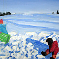 Sledding by Alicia Kroll
