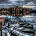 Sleep Canoes Warrenton Va 2012 by Alfredo Alegrett