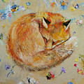 Sleeping Fox by Michael Creese