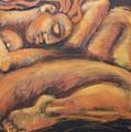 Sleeping Nymph3 by Carmen Tyrrell