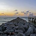 Sleeping On South Beach by Steve Lipson