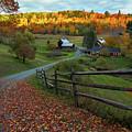 Sleepy Hollow Farm- Pomfret Vt by John Vose