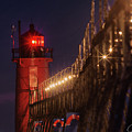 South Haven Lighthouse by J Thomas