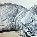 Slepping Lion by Lord Frederick Lyle Morris - Disabled Veteran