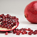 Sliced Pomegranate by Elizabeth Wilson