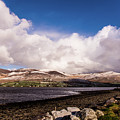 Slieve Mish Mountain In Snow by David Rolt
