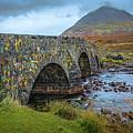 Sligachan Bridge View #h4 by Leif Sohlman