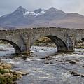 Sligachen Bridge And The Black Cullin, Isle Of Skye by Gaspix15