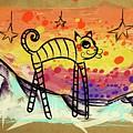 Slinky Cat by Tiffany Hunter