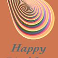 Slinky - Happy Birthday Card 2 by Wendy Wilton