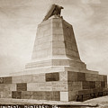 Sloat Monument On The Presidio Of Monterey Circa 1910 by California Views Archives Mr Pat Hathaway Archives