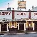 Sloppy Joe's Bar - Key West by Bob Slitzan