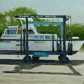 Slow  Boat by Robert Rohrich