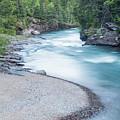 Slow Down On Mcdonald Creek by Blake Passmore
