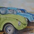 Slugbug Green by Gretchen Bjornson
