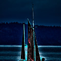 Small Among The Tall Ships by David Patterson