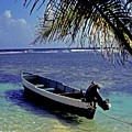 Small Boat Belize by Gary Wonning
