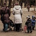 Small Child Looking Backward by Reksik004