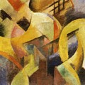 Small Composition I 1913 by Marc Franz